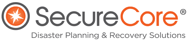 SecureCore Disaster Planning & Recovery Solutions Logo