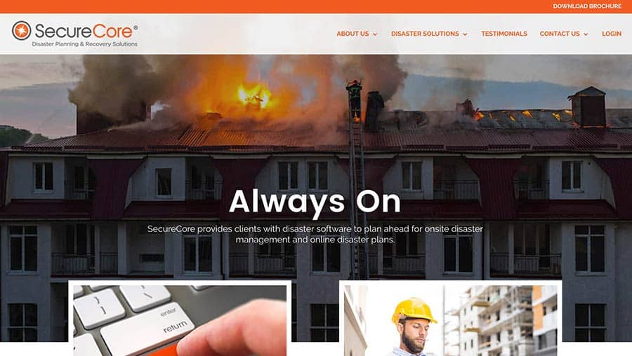 SecureCore Launches New Website